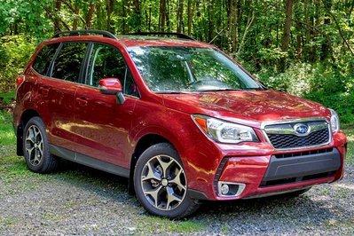 美國原裝Rally Armor軟膠擋泥板 四代森林人Subaru Forester(2013-2018)專用直上