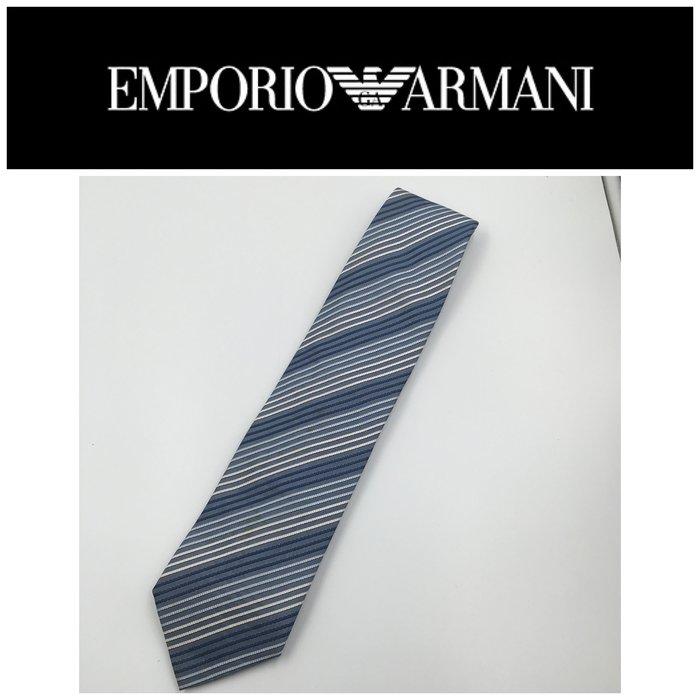 【皮老闆二店】領412 二手正品 狀態良好 EMPORIO ARMANI 手打領帶