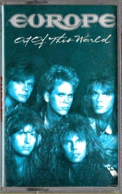 歐洲合唱團Europe / Out of This World 世外桃源(原版錄音卡帶.附:歌詞本)
