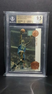 1995 Upper Deck SP Championship Future Playoff Heroes #F7 Isaiah Rider BGS 9.5
