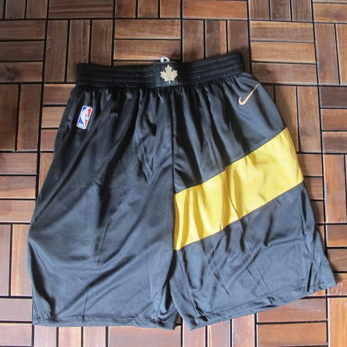 NBA球衣暴龍隊#2號球衣  LEONARD  倫納德 城市版  黑色籃球褲 籃球短褲