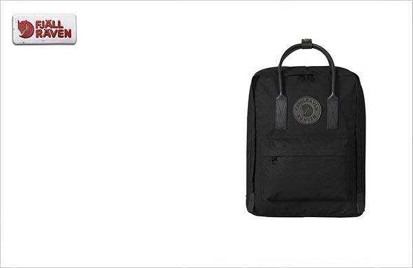 WaShiDa【KN23567】FJALLRAVEN × Kanken No.2 Bag 暗黑 皮革 設計 後背包 現貨
