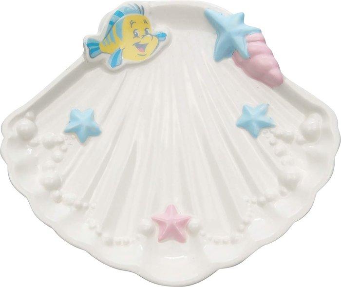 迪士尼Disney《現貨》小美人魚 愛麗兒 貝殼造型 香皂盤~日本正品~心心小舖