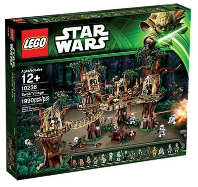全新絕版- Lego 樂高 10236 Star Wars Ewok Village -  Disney Star Wars 迪士尼 星球大戰系列