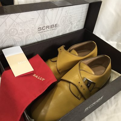 Bally SCRIBE 駱黃手工鞋