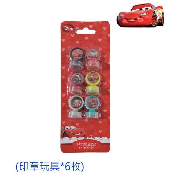 出口歐洲CARS汽車總動員六枚一組印章玩具(3歲以上適用)特價79元/組