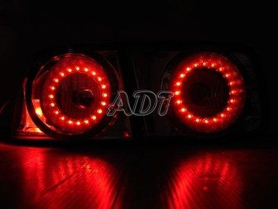 ~~ADT.車材.車材~~CIVIC K8 2門 外銷版紅心圓 LED銀底尾燈一組1800 DEPO製 特價只剩一組