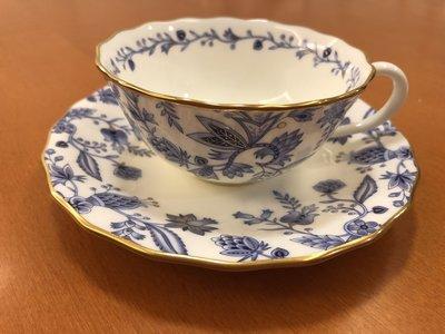 日本製 NORITAKE BLUE SORRENTINO骨瓷杯組 1客/2pcs