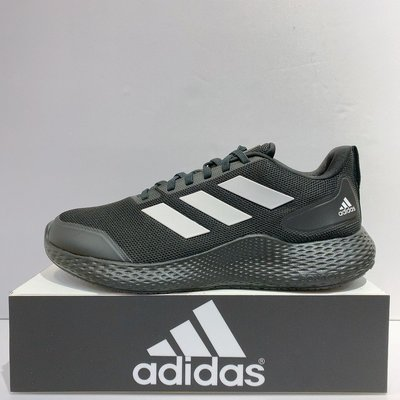 adidas Edge Gameday 男生 黑色 輕量 透氣 緩震 舒適 慢跑鞋 EE4169