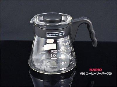 日本製 HARIO V60 coffee serve 700 VCS-02B 700cc 玻璃咖啡壺.下壺