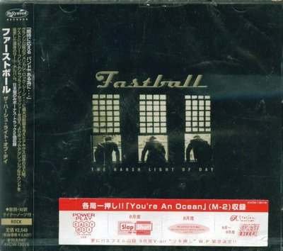 K - Fastball - The Harsh Light Of Day - 日版 +2BONUS - NEW