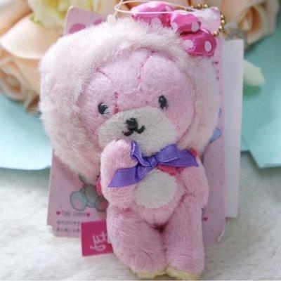Hello kitty好朋友/Tiny Chum/Tiny小熊玩偶吊飾娃娃