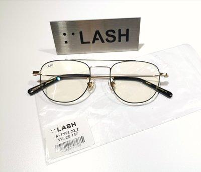 #LASH #TYPE23 韓國設計師雙槓金屬造型眼鏡韓國製造