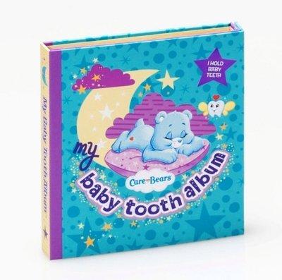 美國原裝進口 Baby Tooth ALBUM 乳齒保存盒 乳牙保存盒 乳牙盒 乳齒盒_彩紅熊