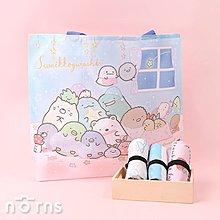 日貨折疊式環保購物袋鬆緊帶款 角落生物v3- Norns 日本進口手提袋 環保袋 Eco bag