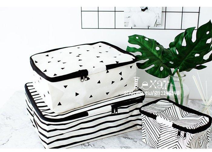 北歐風旅行用品收納袋衣物整理居家用品化妝包雜物收納包雜物