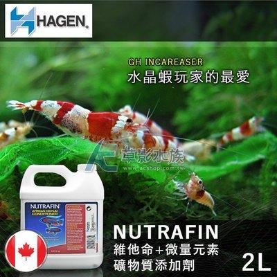 【AC草影】HAGEN 赫根 維他命+微量元素礦物質添加劑(2L) 【一瓶】水晶蝦 玩家最喜歡使用 高雄市