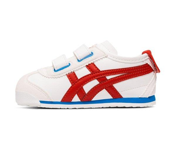 沃皮斯§ Onitsuka Tiger MEXICO 66  白紅藍 小童鞋 1184A054-100
