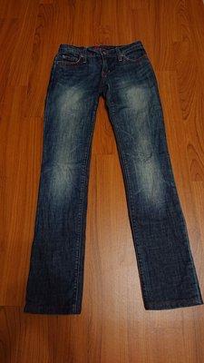 blue cult size24 直筒牛仔褲