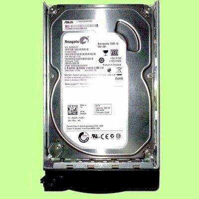 5Cgo【權宇】如新ASUS伺服器含TRAY硬碟17G012C44102 500G SATA ST3500418AS含稅
