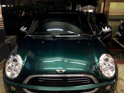 ☆雙魚座〃汽車〃R53 R50 大燈 晶鑽大燈 MINI ONE COOPER S R50 R53 晶鑽版光圈魚眼大燈