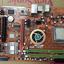 【冠丞3C】ABIT I45D 775腳位 主機板 MB-I7214