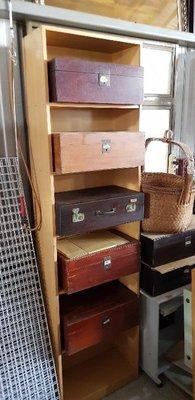 彰化二手貨中心(原線東路二手貨) --- 早期收藏 各式檜木木箱  檜木箱