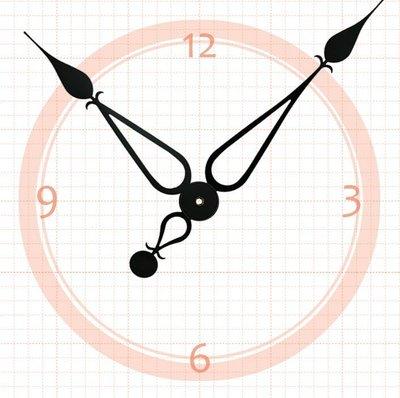 【鐘點站】 J197172  SKP壓針機芯 / 分針19.7公分 時針17.2公分 / DIY 時鐘 掛鐘 鐘針