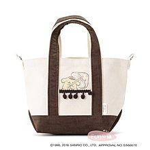 日本三麗鷗聯名限定 布丁狗 手提肩背2WAY包。現貨【Fun心購】