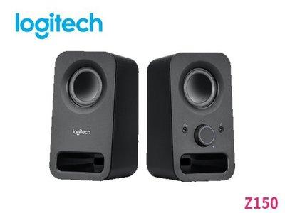 「ㄚ秒市集」Logitech 羅技 Z150 2.0聲道 多媒體 喇叭 黑色