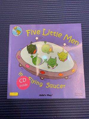 Five Little Men in Flying Saucer 書+CD