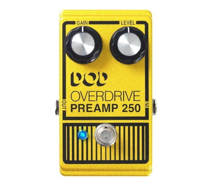 ☆ 唐尼樂器︵☆全新 Digitech DOD Overdrive Preamp 250 電吉他 破音 單顆 效果器
