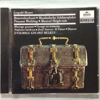 Mozart莫札特-Peasant Wedding農夫的婚禮交響曲 等 西德全銀圈版