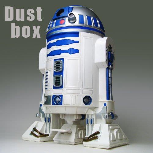 (I LOVE樂多)(少量逸品)STAR WARS 星際大戰 R2D2 waste basket 垃圾桶 既實用又具裝飾喔(日本限定)