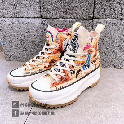 【豬豬老闆】CONVERSE RunStar Hike Twisted Resort 高筒 厚底 女款 167895C