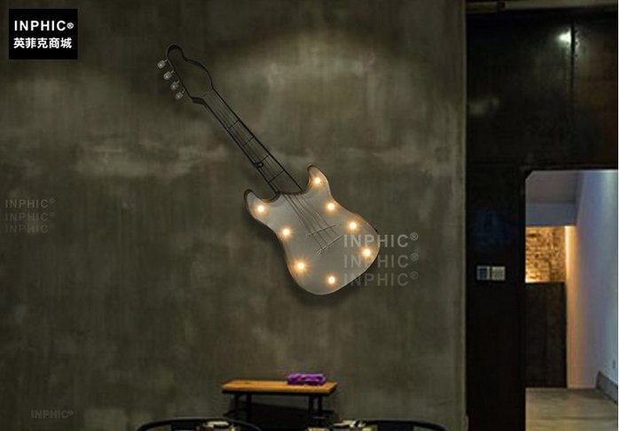 INPHIC-中式餐廳創意家居咖啡店裝飾品臥室鐵藝壁飾牆飾_S01902C