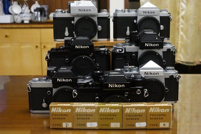 【售】二手 Nikon 大F & F2 對焦屏 (NIKON Focusing Screen )