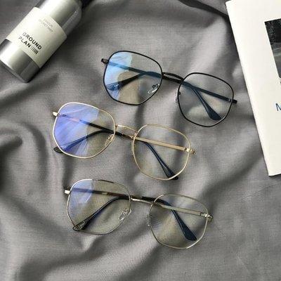 (全場免運)周揚青羅志祥同款眼鏡框女韓版復古方形素顏可配平光鏡男 【不二先生】