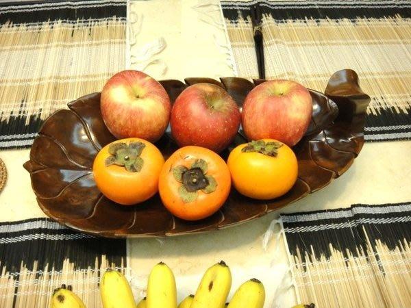 Y【永晴峇里島】巴里島葉子造型實木製水果盤,增添異國風味,居家,民宿都好用-水果盤3