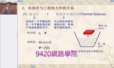 【9420-539】傳質熱傳學 (Heat and Mass Transfer) 教學影片- ( 32講課 ) , 378 元!