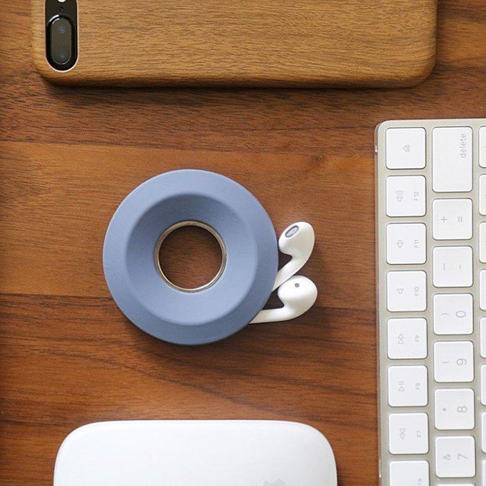 耳機繞線器理線器蘋果手機數據線充電線纏線器固線夾收納整理創意(任選1入)_☆找好物FINDGOODS☆