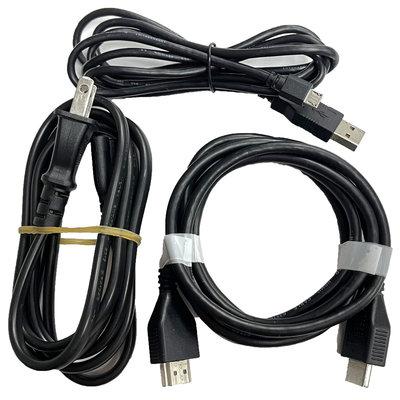 【PS4週邊】 SONY原廠 8字電源線+手把充電線+HDMI 拆機良品 【中古二手商品】台中星光電玩