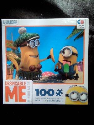 授權正版 Despicable Me Minions 神偷奶爸 小小兵 拼圖 3 美國製造