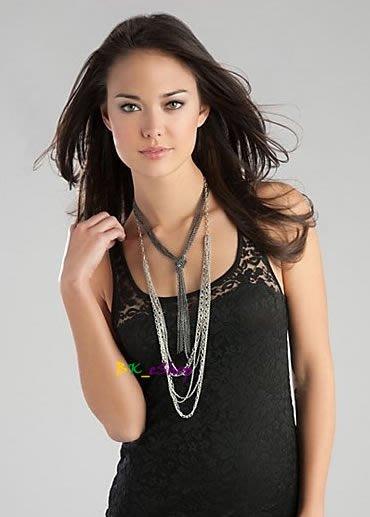 【美衣大鋪】☆ GUESS 正品☆Knot Necklace with Multi Chains 美項鍊