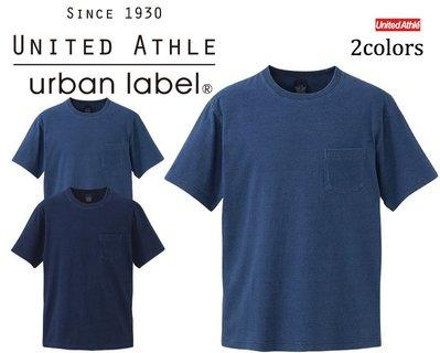【Admonish】UA 3991 United Athle 5.3 磅數 藍染 口袋 T恤 2色 現貨