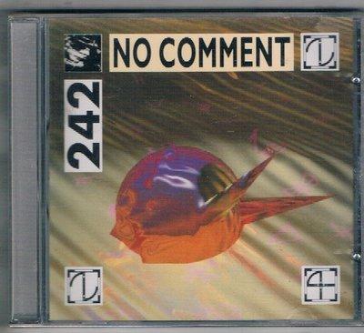 [鑫隆音樂]西洋CD-FRONT 242 / NO COMMENT {EK52404}全新 /免競標