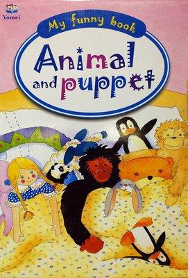 全新 Yomei 出版 My Funny Book Animal and Puppet,含4書4CD,無底價!免運費!