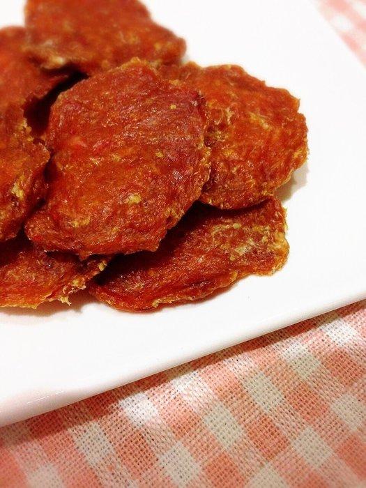 貝果貝果~新鮮手作土雞肉枸杞脆片 [Z032]