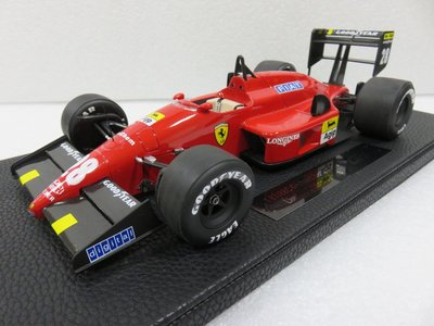 宗鑫貿易 1/12 TOP Marques GP008A Ferrari F1 87 / 88 G. Berger