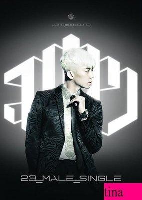 2PM 張佑榮韓版第一張迷你專輯-銀版 Jang Woo Young Mini Album Vol. 1 - 23, Male, Single全新未拆